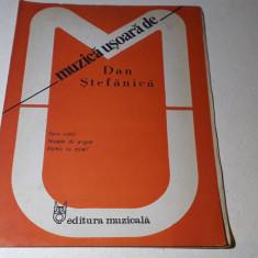 Partituri muzica usoara de Dan Ștefanica