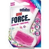Cumpara ieftin Odorizant WC GENERAL FRESH One Force Flower, 40 g, Bile Odorizante Toaleta, Odorizant Toaleta, Odorizant Anticalcar pentru WC, Odorizant pentru Toalet