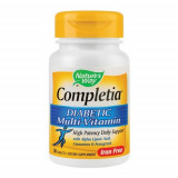 Completia Diabetic Multi-Vitamin (fara fier), 30cps, Nature's Way