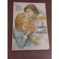 Codrin si Codrina - Elena Zafira Zanfir, ilustratii de Gh. Marinescu