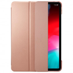 Husa Spigen Smart Fold iPad Pro 11 inch (2018) Rose Gold