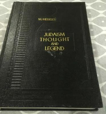 Judaism-Thought and Legend-Iudaismul-Gand si legenda-Iudaism-Evrei-Talmud-Ebraic foto