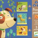 Set Puzzle-uri Catei veseli