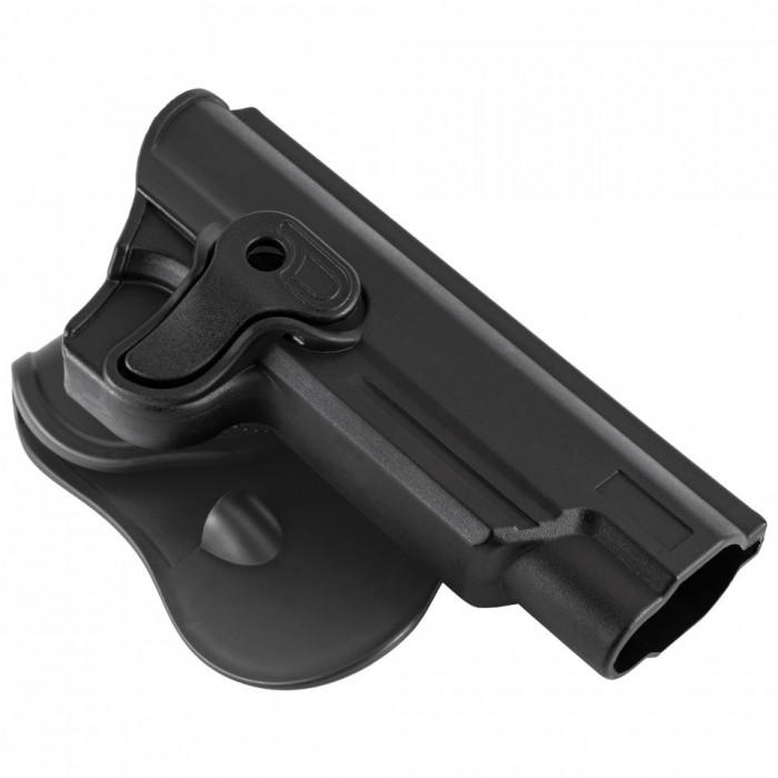 Toc / Holster Colt M1911 Negru Ultimate Tactical