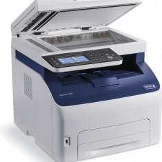 Imprimanta Multifunctionala Laser Color Xerox WorkCenter 6027, A4, 30.000 pagini/luna, 1200 x 2400 DPI, Wi-Fi, USB, Fax, Network, ADF, Scanner,