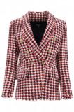 Cumpara ieftin Sacou dama Balmain tweed houndstooth jacket UF07471C262 Multicolor