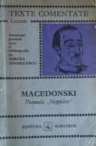 "Al. Macedonski - Poemele ""Noptilor "" ( TEXTE COMENTATE )"