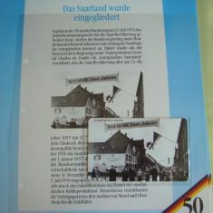 """3 Cartele Telefonice """"50 Jahre Deutschland"""" - Exponate NOI / 8"""