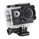 Camera Sport ActionCam SJ9000 UltraHD 4K @ 30fps WiFi 16.0MP Black Pachet Complet cu Accesorii, Card de memorie, SJCAM