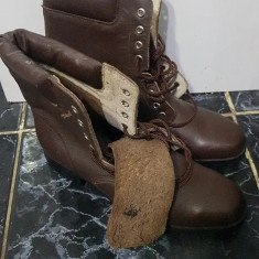 Bocanci Ofiter Vânător de Munte Noi,Nr 41