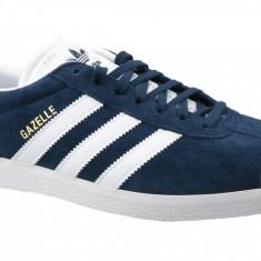 Pantofi sport adidas Gazelle BB5478 pentru Barbati, 42 2/3, 43 1/3, 44 2/3, 46, 46 2/3, 47 1/3, Albastru