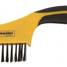 Perie de sarma 4 x 16 otel carbonTopmaster Profesional