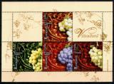 Romania 2005, LP 1685, Viticultura, bloc de 4, MNH! LP 9,00 lei, Agricultura, Nestampilat