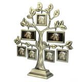 Rama foto multipla Rhea Tree forma de arbore metalic