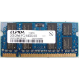 Memorie laptop 2GB DDR2 Elpida 2Rx8 PC2-6400S-666
