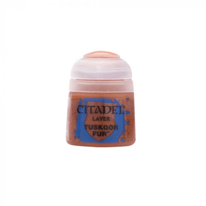 Vopsea pentru Miniaturi, Citadel, Layer Tuskgor Fur, 12ml