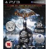 Batman Arkham Asylum Game of the Year PS3