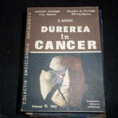 DUREREA IN CANCER-C.ARSENI