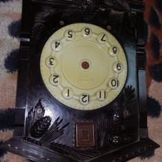 CADRAN ceas de perete vintage,fata ceas cu cuc,estetic conform foto,Tran.GRATUIT