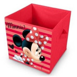 Cutie pliabila textila pentru depozitare Minnie
