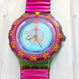 CEAS ELVETIAN SWATCH Key Watch - Dive in the Coral Reef