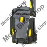 MBS Rucsac BRP Ski-Doo Elevation, negru/gri/galben, compartiment principal de 8L, Cod Produs: 4692660090SK