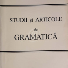 Studii si articole de gramatica