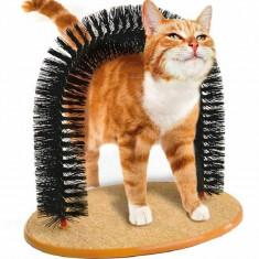 Arc de masaj pentru pisici, bej, Gonga