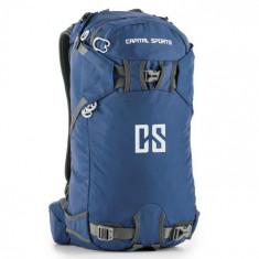 Capital Sports CS 30 Rucsac Sport Drumetii 30 litri nylon impermeabil albastru