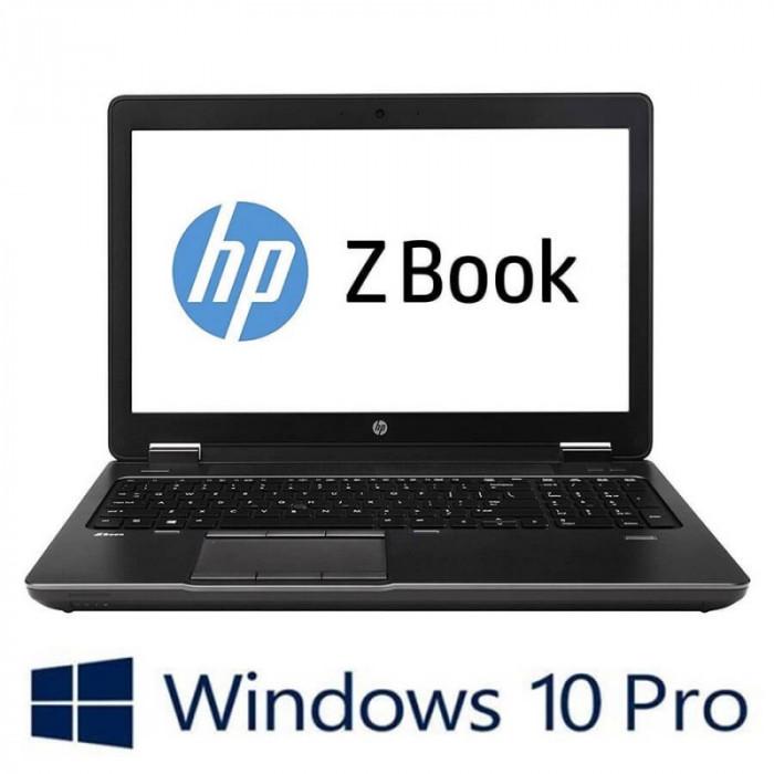 Laptop Refurbished HP ZBook 15 G2, i7-4810MQ, Baterie Noua, Win 10 Pro