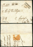 Italy 1811 Rare Stampless Cover + Content Sarnano Sanginesio D.1082