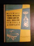 ILIE IONESCU - MATERIALE PENTRU INSTALATII TEHNICO-SANITARE, GAZE, INCALZIRE ...