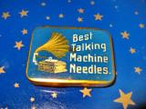 B763-I-Cutie ace patefon veche Best Talking Machine needles.