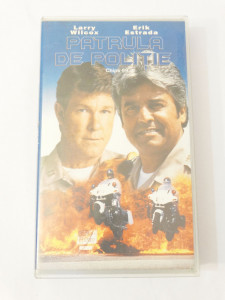 Caseta video VHS originala film tradus Ro - Patrula de Politie Chips 99
