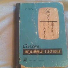 Cartea instalatorului electrician-Ing.Gh.Chirita,Ing.C.Alexe