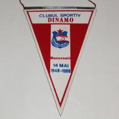 Fanion fotbal  DINAMO BUCURESTI (aniversare 1948-1988)