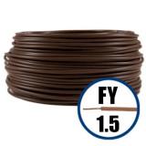 Cablu electric FY 1.5 – 100 M – H07V-U – maro
