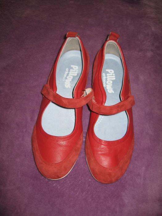 Pantofi piele naturala Pillows Scholl Mar 41