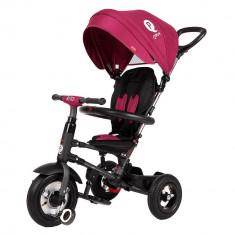 Tricicleta cu roti gonflabile de cauciuc Qplay Rito Air Violet