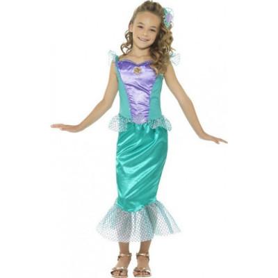 Costum Sirena 10-12 ani foto