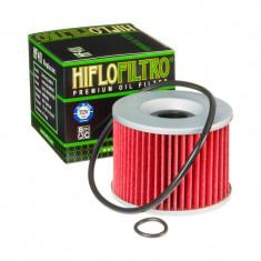 Filtru Ulei HF401 Hiflofiltro Honda Kawasaki Yamaha cu 2 O-ring Cod Produs: MX_NEW HF401