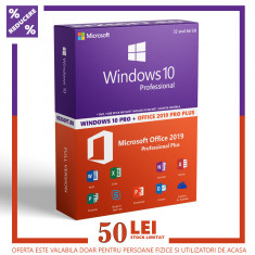 Licenta Windows 10 PRO + OFFICE 2019 PRO PLUS + AVAST PREMIUM foto