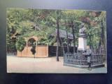 AKVDE20 - Carte postala - Vedere - Deta - Monument Anton Kratzer, Circulata, Printata