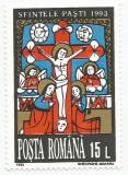 România, LP 1309/1993, Sfintele Paști, eroare, MNH