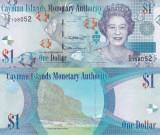 Cayman Islands Insulele Cayman 1 Dollars 2018 UNC