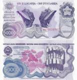 IUGOSLAVIA 500.000 dinara 1989 UNC!!!