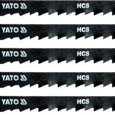 Set 5 lame HCS fierastrau pendular 6 TPI YATO