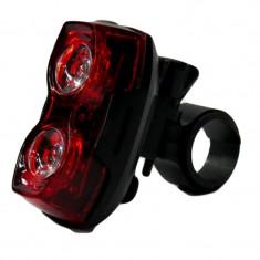 Far pentru bicicleta Huibo, 2 x LED, 7 moduri iluminare