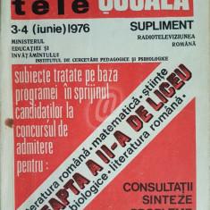 Radiotelescoala - nr. 3-4 (iunie)/1976