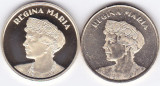 Moneda Romania 50 Bani 2019 - Proof + UNC (set x2 - Marea Unire - Regina Maria )